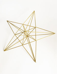 DIY himmeli Little Star